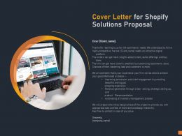 Cover Letter For Shopify Solutions Proposal C1126 Ppt Powerpoint Presentation Infographic