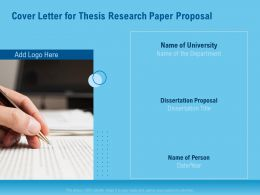 Cover Letter For Thesis Research Paper Proposal Department Ppt File Design