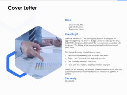 Cover Letter Management C1221 Ppt Powerpoint Presentation File Display