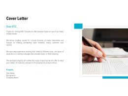 Cover Letter Management L505 Ppt Powerpoint Presentation Outline Graphics