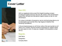 Cover Letter Management Ppt Powerpoint Presentation Styles Objects