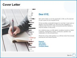 Cover Letter Ppt Powerpoint Presentation Gallery Graphics Download