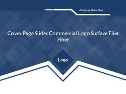 Cover Page Slides Commercial Logo Surface Flier Fiber