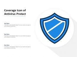 Coverage Icon Of Antivirus Protect