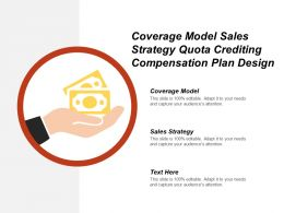 Coverage Model Sales Strategy Quota Crediting Compensation Plan Design