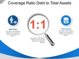 Coverage Ratio Debt To Total Assets