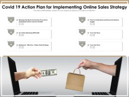 COVID 19 Action Plan For Implementing Online Sales Strategy
