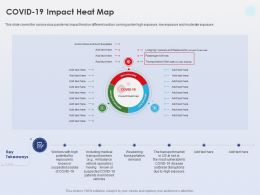 Covid 19 Impact Heat Map Moderate Exposure Ppt Powerpoint Presentation Guide