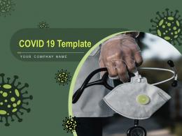 COVID 19 Template Powerpoint Presentation Slides