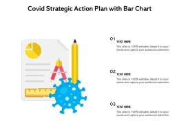 COVID Strategic Action Plan With Bar Chart