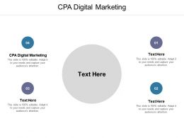 CPA Digital Marketing Ppt Powerpoint Presentation Ideas Graphic Images Cpb