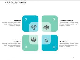Cpa Social Media Ppt Powerpoint Presentation Styles Inspiration Cpb