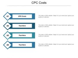 CPC Costs Ppt Powerpoint Presentation Gallery Summary Cpb