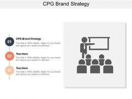 CPG Brand Strategy Ppt Powerpoint Presentation Gallery Design Templates Cpb