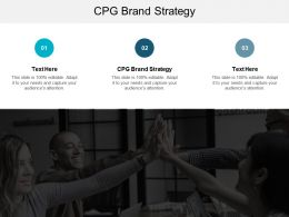 CPG Brand Strategy Ppt Powerpoint Presentation Slides Demonstration Cpb