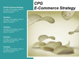 CPG E Commerce Strategy Ppt Powerpoint Presentation Infographic Template Infographics Cpb