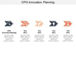 CPG Innovation Planning Ppt Powerpoint Presentation Gallery Examples Cpb