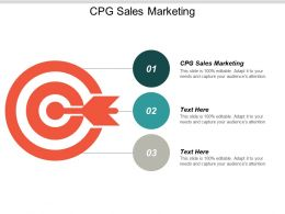 CPG Sales Marketing Ppt Powerpoint Presentation Ideas Graphics Pictures Cpb