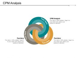 CPM Analysis Ppt Powerpoint Presentation Infographic Template Summary Cpb