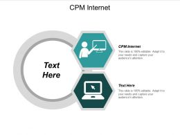 CPM Internet Ppt Powerpoint Presentation File Influencers Cpb