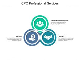 CPQ Professional Services Ppt Powerpoint Presentation Styles Styles Cpb