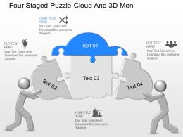 cr_four_staged_puzzle_cloud_and_3d_men_powerpoint_template_Slide01