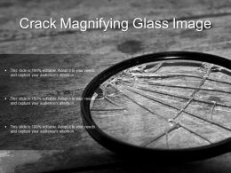 Crack Magnifying Glass Image