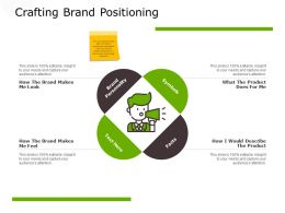 Crafting Brand Positioning Planning Ppt Powerpoint Presentation File Diagrams