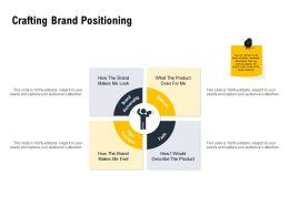 Crafting Brand Positioning Ppt Powerpoint Presentation Portfolio Show