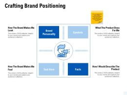 Crafting Brand Positioning Symbols Ppt Powerpoint Presentation Gallery Example