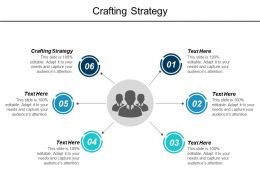 Crafting Strategy Ppt Powerpoint Presentation Pictures Elements Cpb
