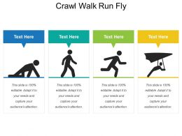 Crawl Walk Run Fly
