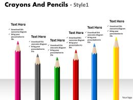 Crayons And Pencils Style 1 PPT 10