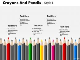 Crayons And Pencils Style 1 PPT 11