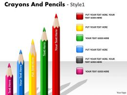 Crayons And Pencils Style 1 PPT 6