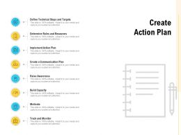 Create Action Plan Raise Awareness Ppt Powerpoint Presentation Ideas Guide