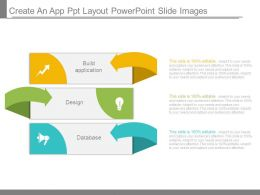Create An App Ppt Layout Powerpoint Slide Images