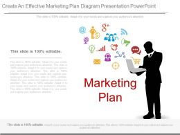 Create An Effective Marketing Plan Diagram Presentation Powerpoint