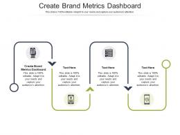 Create Brand Metrics Dashboard Ppt Powerpoint Presentation Styles Introduction Cpb