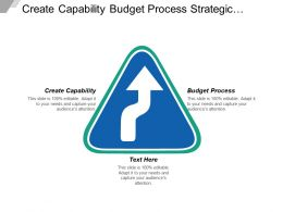 Create Capability Budget Process Strategic Placement Strategy Objective Cpb