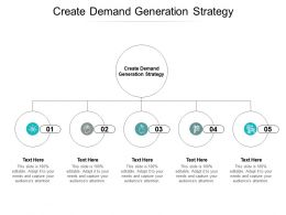 Create Demand Generation Strategy Ppt Powerpoint Presentation Pictures Designs Cpb