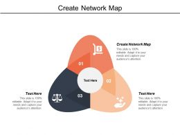 Create Network Map Ppt Powerpoint Presentation File Graphics Tutorials Cpb