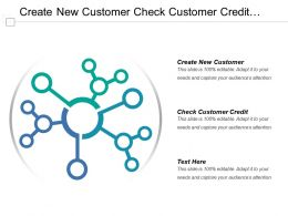 Create New Customer Check Customer Credit Spectral Density