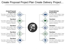Create Proposal Project Plan Create Delivery Project Plan
