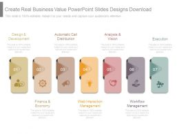 Create Real Business Value Powerpoint Slides Designs Download