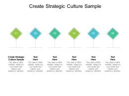 Create Strategic Culture Sample Ppt Powerpoint Presentation Slides Icons Cpb