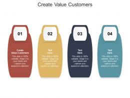 Create Value Customers Ppt Powerpoint Presentation Icon Inspiration Cpb