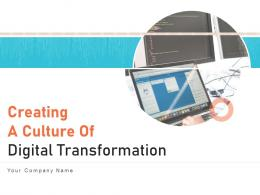 Creating A Culture Of Digital Transformation Powerpoint Presentation Slides