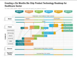 Creating A Six Months Bio Chip Product Technology Roadmap For Healthcare Sector