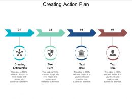 Creating Action Plan Ppt Powerpoint Presentation Show Examples Cpb